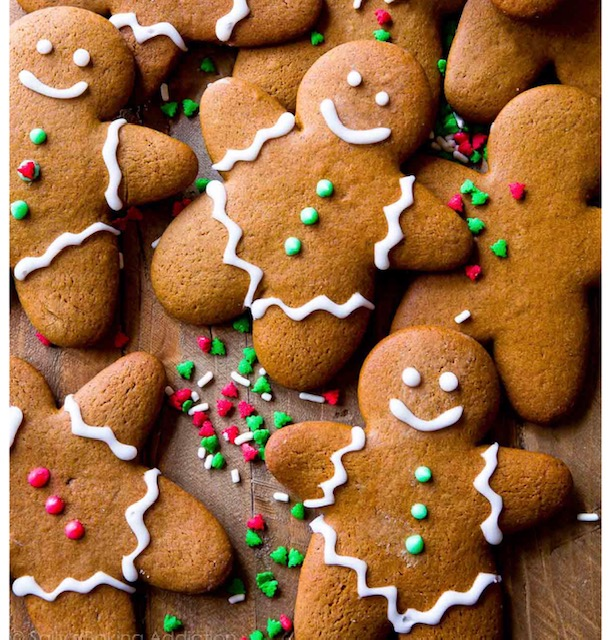 Christmas lunch, a gingerbread man and realising I am not alone!